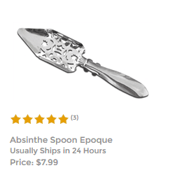 Absinthe Slotted Spoon Epoque