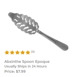 Absinthe Spoon Wormwood Leaf II