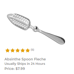 Fleche Slotted Absinthe Spoon