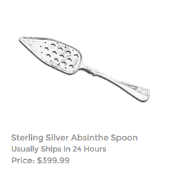 Sterling Silver Absinthe Spoon